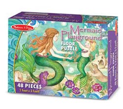 Mermaid Playground - Floor Mermaids Children's Puzzles