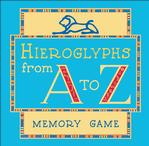 Hieroglyphs from A to Z (Memory Game) Egypt Card Game