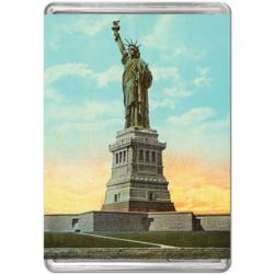 Vintage Statue Of Liberty (Mini) Landmarks / Monuments Miniature Puzzle
