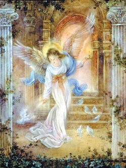 MINI - Angel of light Religious Jigsaw Puzzle