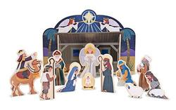 Nativity Play Set Religious Toy