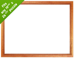 19.25 x 26.75 Wood Frame  Natural - Scratch and Dent Accessory