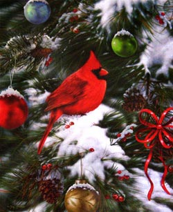 Nature's Ornaments Christmas Jigsaw Puzzle