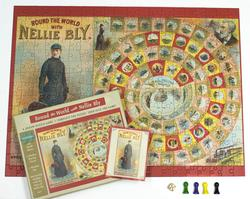 Round the World with Nellie Bly - Puzzle Game Famous People Kids Puzzle