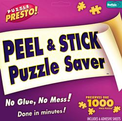Peel & Stick Puzzle Saver