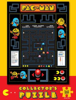 Pac-Man Collector's Puzzle Vintage Collectible Packaging