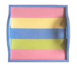 Puzzleboard Classic Medium Pastel Stripe