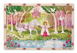 Pastoral Princess Forest Tray Puzzle