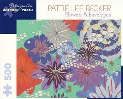 Flowers & Envelopes Flowers Jigsaw Puzzle