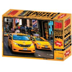 NYC Times Square 3D Puzzle New York 3D Puzzle