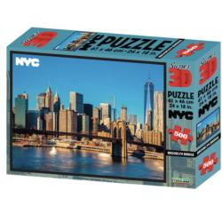 NYC Brooklyn Bridge 3D Puzzle New York 3D Puzzle