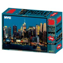 New York City 3D Puzzle New York 3D Puzzle