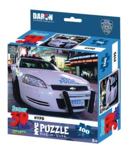 NYC NYPD 3D Puzzle Vehicles Children's Puzzles