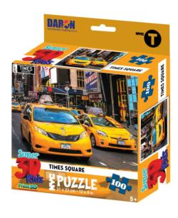 NYC Times Square 3D Puzzle New York Children's Puzzles