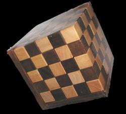 Pentathalon Cube - Large Brain Teaser