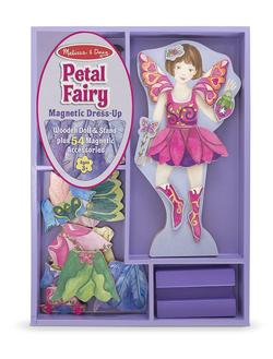 Petal Fairy Magnetic Dress-Up Pretend Play Toy