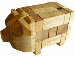 Pig Puzzle Brain Teaser