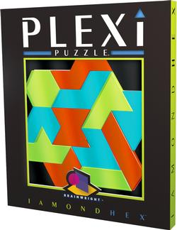 Iamond Hex (Plexi Puzzle) Non-Interlocking Puzzle