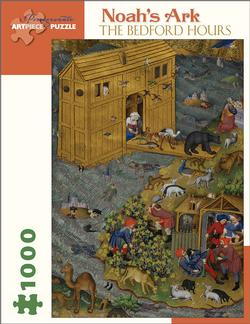 The Bedford Hours - Noah's Ark Religious Jigsaw Puzzle
