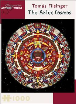 The Aztec Cosmos Cultural Art Jigsaw Puzzle
