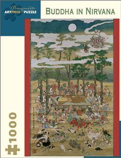 Buddha in Nirvana Asia Jigsaw Puzzle