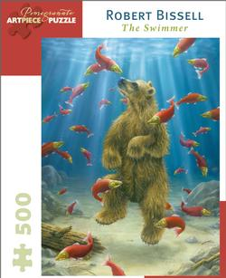 The Swimmer Marine Life Jigsaw Puzzle