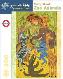 Zoo Animals Contemporary & Modern Art Children's Puzzles