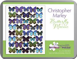 Butterfly Mosaic Butterflies and Insects Miniature
