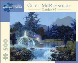 Garden #5 Waterfalls Jigsaw Puzzle