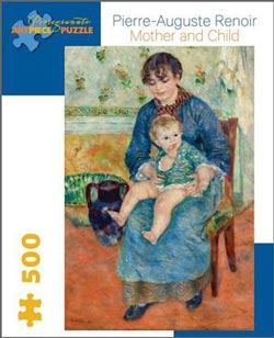 Mother and Child Impressionism Jigsaw Puzzle