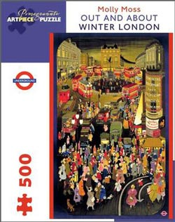 Out and About Winter London London Jigsaw Puzzle