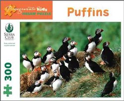 Puffins Birds Children's Puzzles