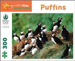 Puffins Birds Children's Puzzles