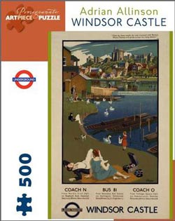 Windsor Castle London Jigsaw Puzzle