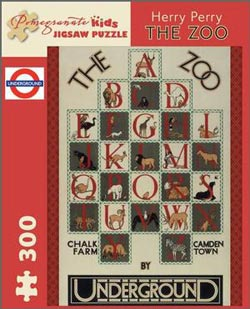 The Zoo Language Arts Children's Puzzles