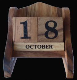 Perpetual Calendar (Large) Brain Teaser
