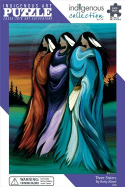 Three Sisters Native American Jigsaw Puzzle