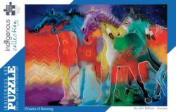 Dreams of Running Native American Jigsaw Puzzle