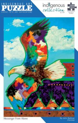 Messenger From Above Native American Jigsaw Puzzle