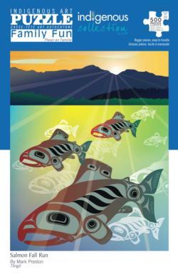 Salmon Fall Run Fish Jigsaw Puzzle
