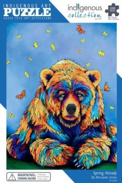 Spring Already Bears Jigsaw Puzzle