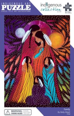 Family Native American Jigsaw Puzzle