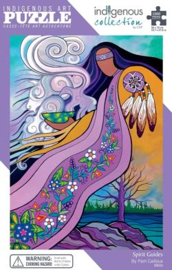 Spirit Guides - Scratch and Dent Native American Jigsaw Puzzle