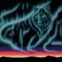 Sky Dance - Wolf Song Wolves Jigsaw Puzzle