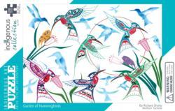 Garden of Hummingbirds Birds Jigsaw Puzzle