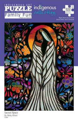 Sacred Space Native American Jigsaw Puzzle