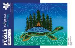 Turtle Island Native American Jigsaw Puzzle