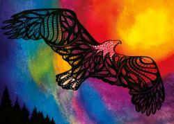 Eagle Medicine Native American Jigsaw Puzzle