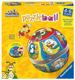 Numbers (Puzzleball) Math Children's Puzzles