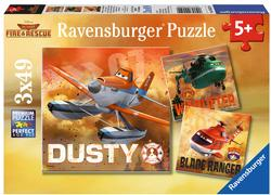 Real Rescue Planes Cartoons Children's Puzzles